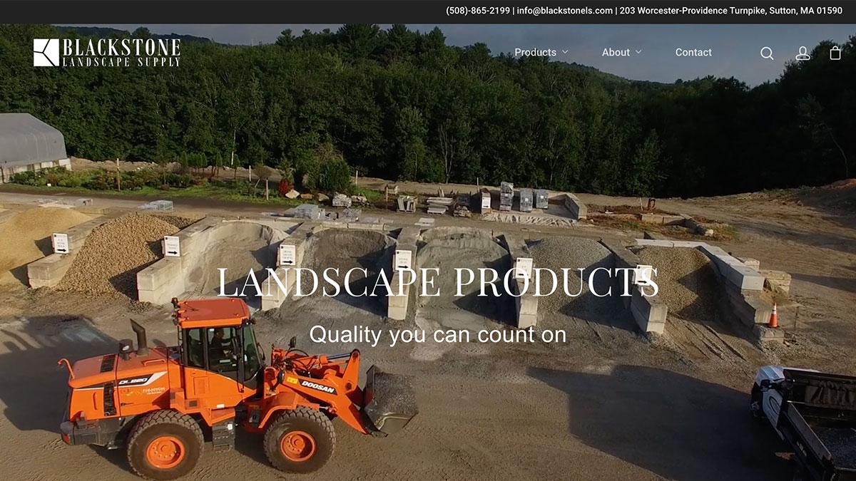 Blackstone Valley Website Design Boston