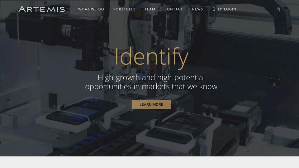Artemis Web Design thumbnail