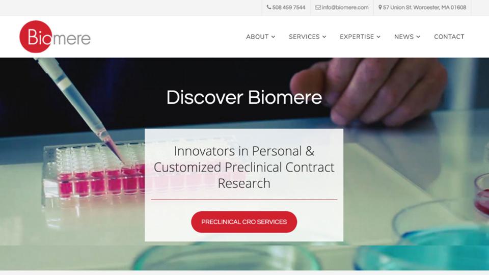 BiomereWebsiteDesign