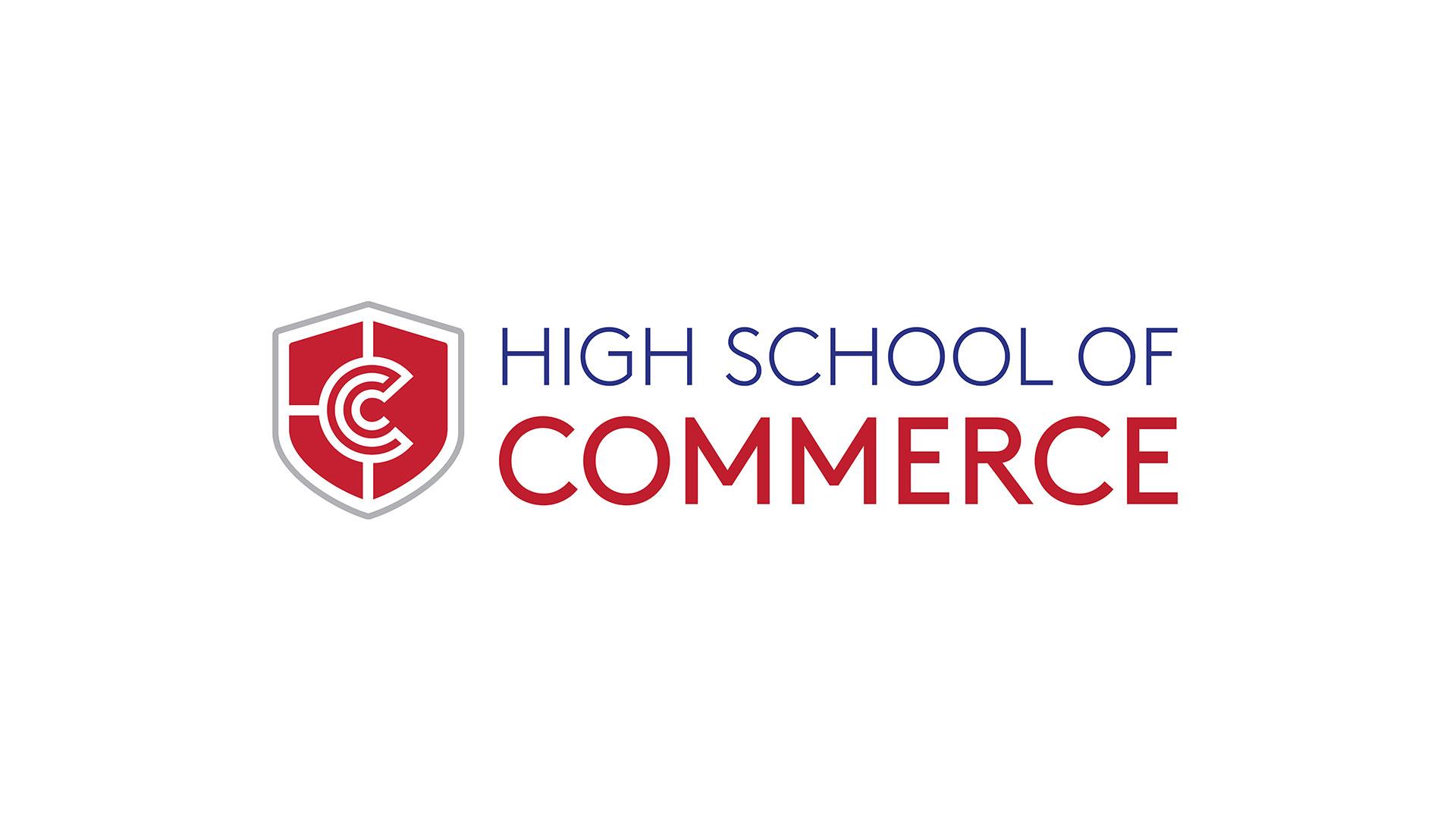 HighSchoolCommerceLogoDesign