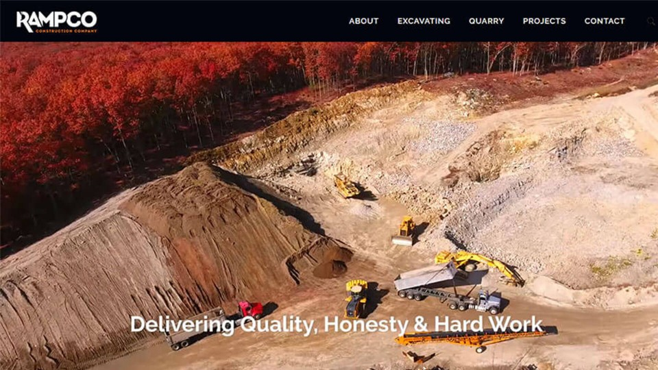 Website Design Rampco Construction