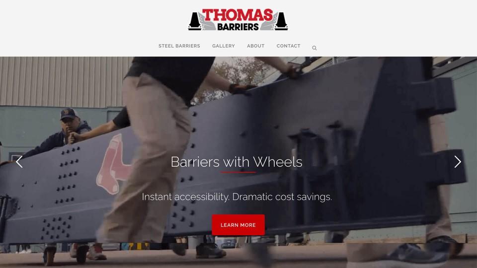 Website Design ThomasBarriers