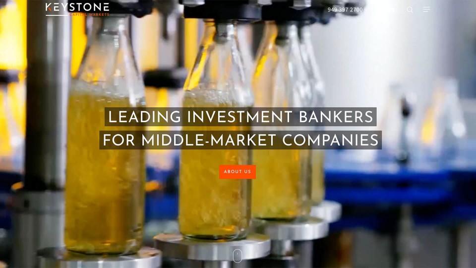 Keystone Capital Markets wed design