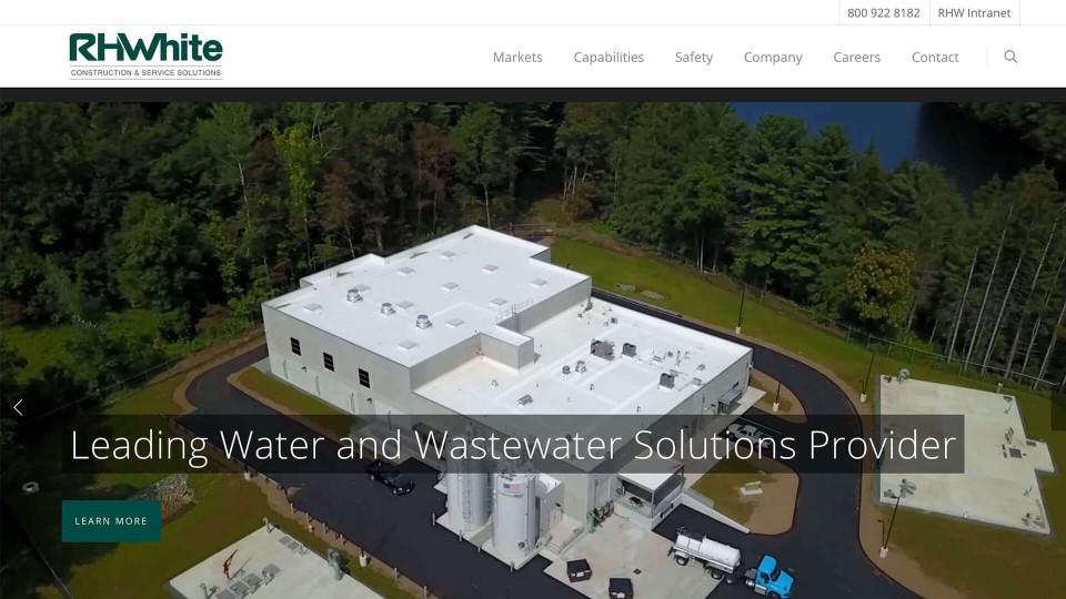 Website Design RHWhiteConstruction