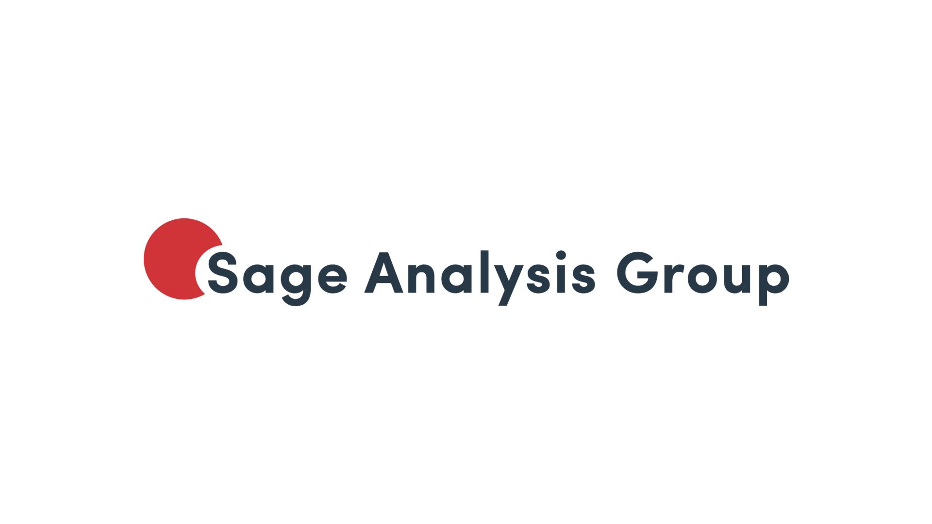 Sage Analysis Group Logo Slider