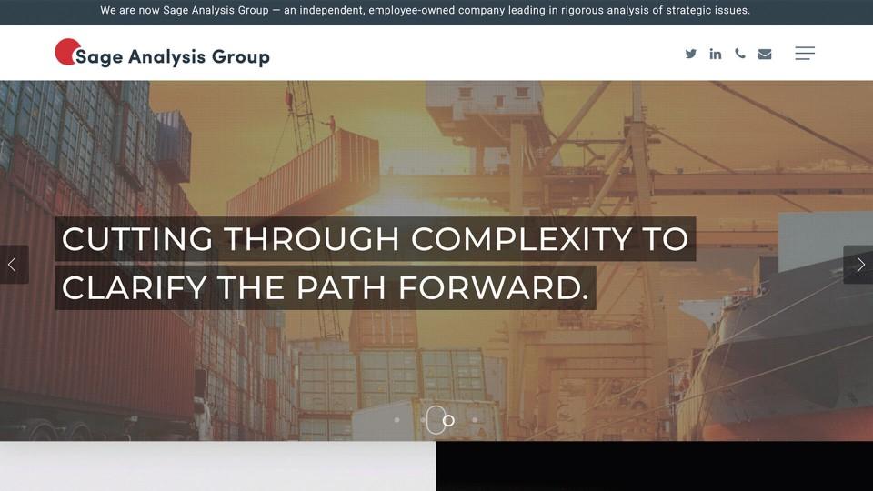 Website Design Sage Analysis Group