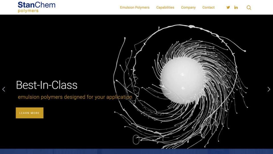 Website Design Stanchem Polymers