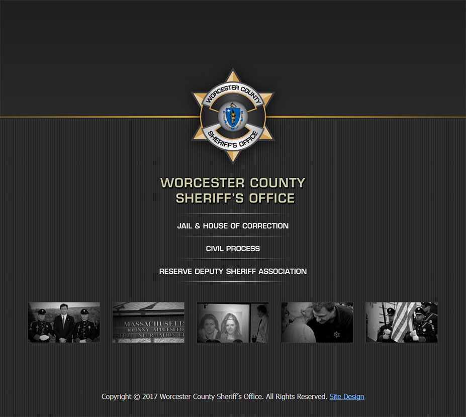 Worcester County Sheriffs Office front page