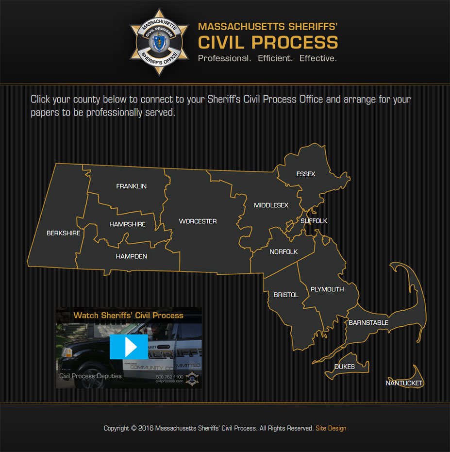 civil process home page