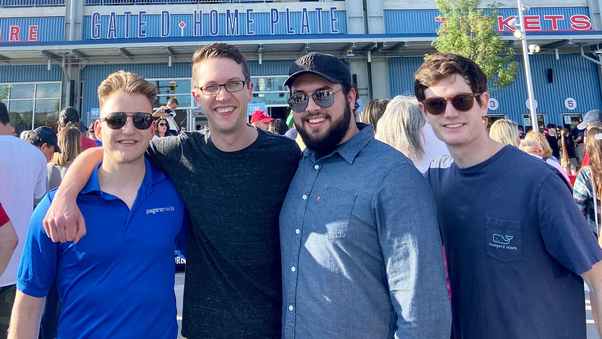 pagano media careers team outing woosox