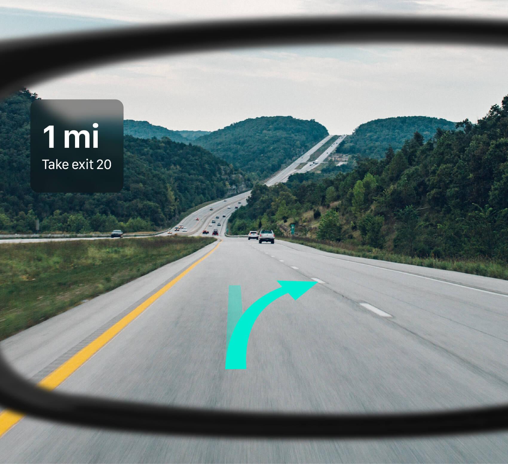Apple Glass Apple Maps GPS