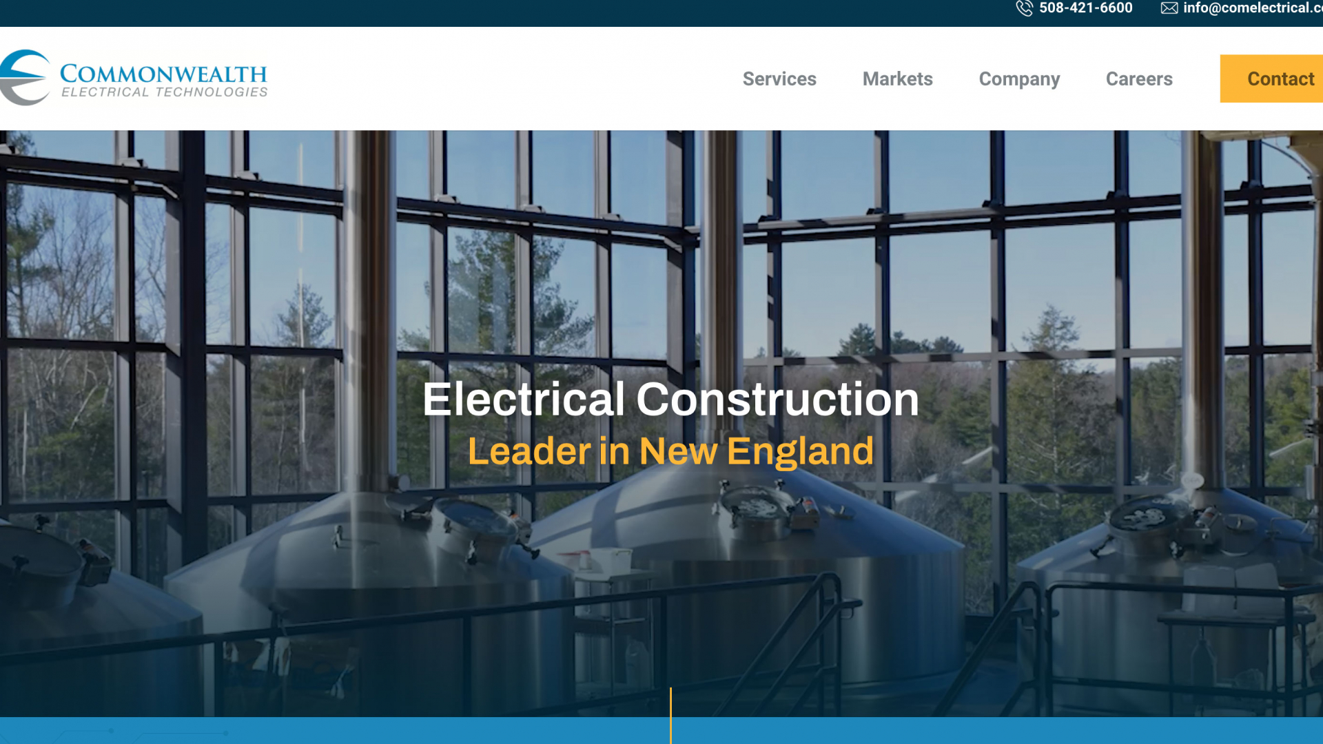Electrical Construction Web Design Commonwealth Electrical