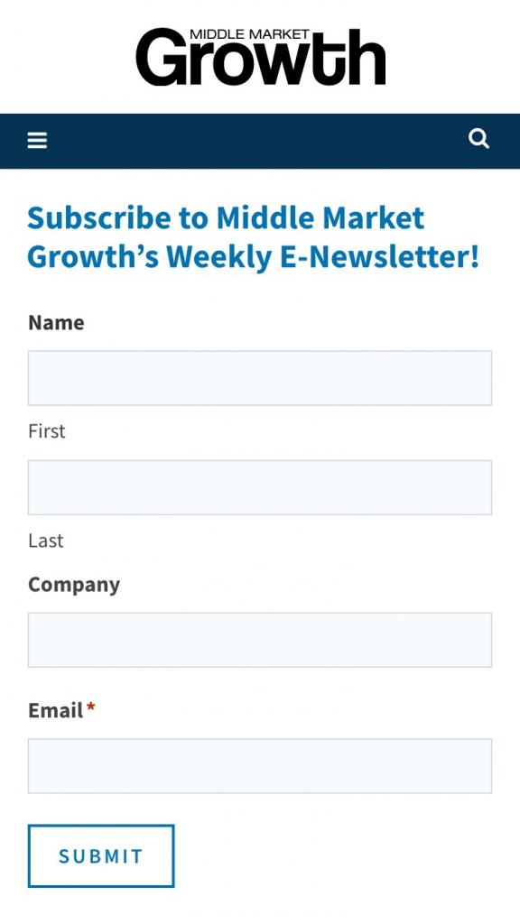 Middle Market Growth Mobile Design 2