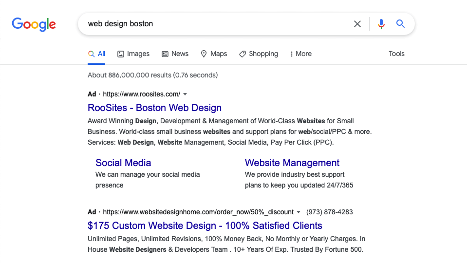 Rank higher on google with Google Ads
